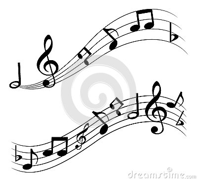 Free Music Notes Royalty Free Stock Photos - 29896708