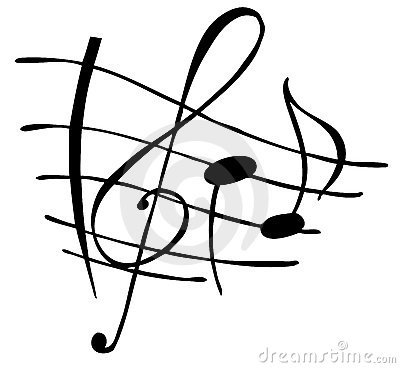 Free Music Notes Royalty Free Stock Photos - 4357918