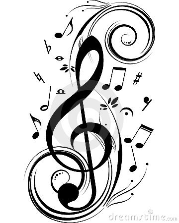 Free Music Notes Stock Image - 7544001
