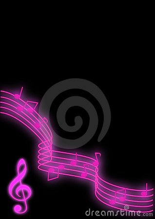 Free Music Notes Royalty Free Stock Photography - 8111217