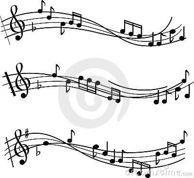 Free Music Notes Royalty Free Stock Image - 9961366
