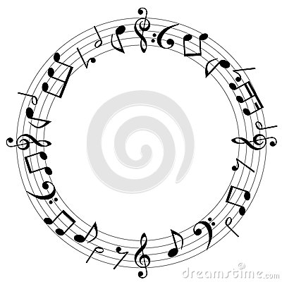 Free Music Notes Background Royalty Free Stock Photography - 38195367