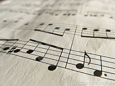 Music Notes Classical Sheet Music