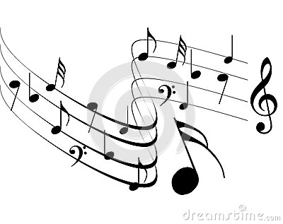 Music Notes Design Stock Vector Image 49641279