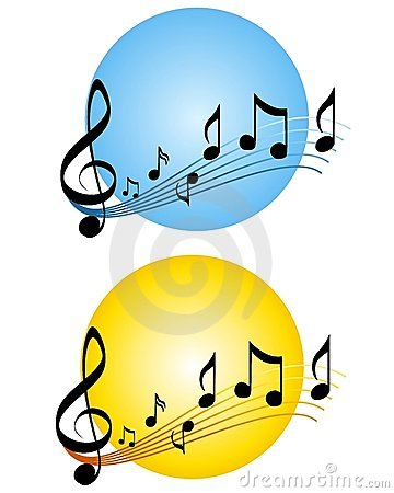 Music Notes Scale Logos or Icons