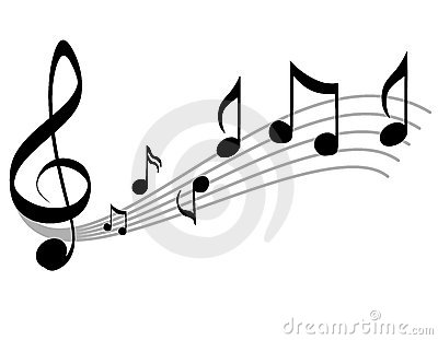 Music Notes Scale and Treble Clef