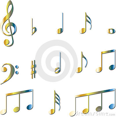 images of music notes symbols. MUSIC NOTES SYMBOLS SET