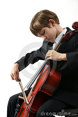 Free Music Of Cello Royalty Free Stock Images - 9747619