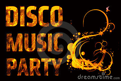 Music party disco