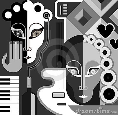 Free Music Party - Vector Illustration Stock Photos - 21900133