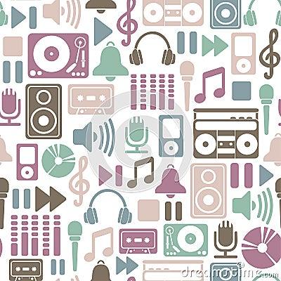 Free Music Pattern Stock Image - 28644161