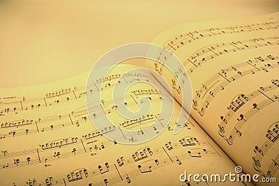 Music score