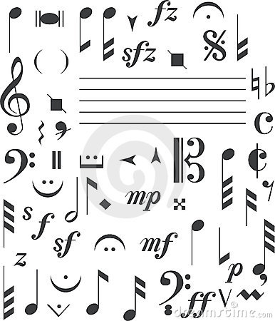Stock Images: Music signs