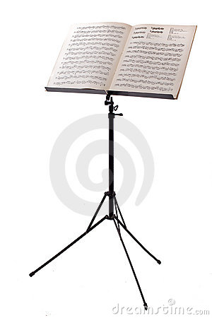 Free Music Stand Royalty Free Stock Photography - 13607447