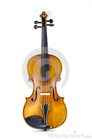 Free Music String Instrument Violin Isolated On White Royalty Free Stock Photos - 39871358