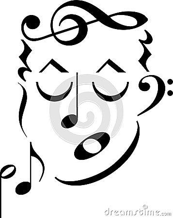 Music Symbol Face