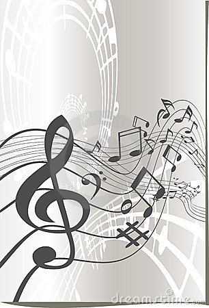 Music symbols design