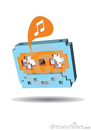Music Tape Casette