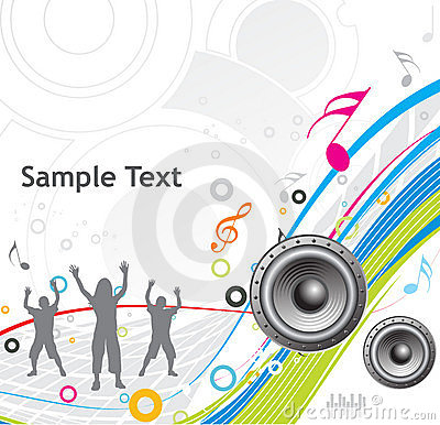 Free Music Theme Royalty Free Stock Photography - 8390357