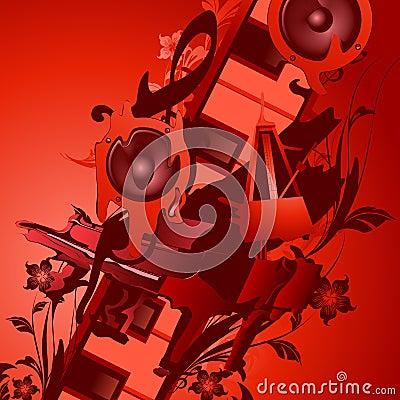 Music thrme