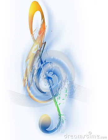 Free Music - Treble Clef - Digital Art Stock Images - 150584