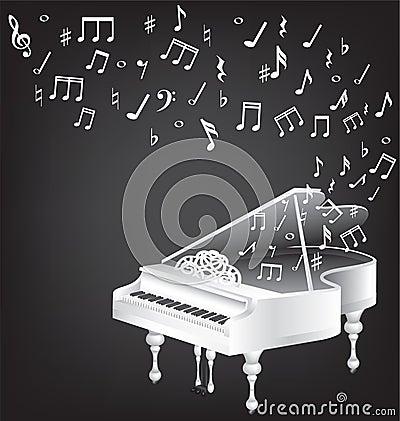 Music vintage card