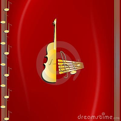 Music and violin