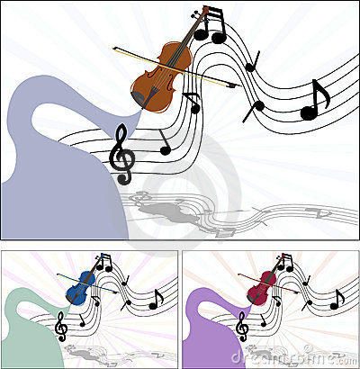 Music of the violin