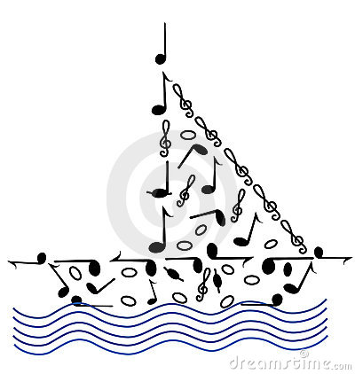 Music on the waves