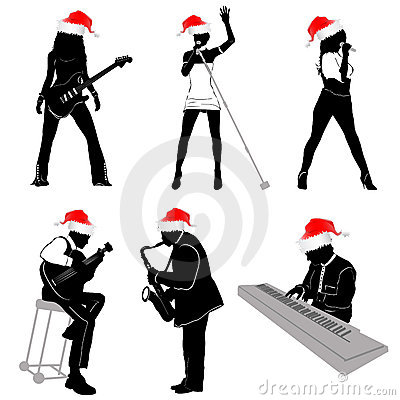 Free Music With Christmas Concept Royalty Free Stock Image - 17113686