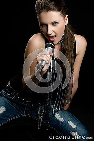 Music Woman Singing