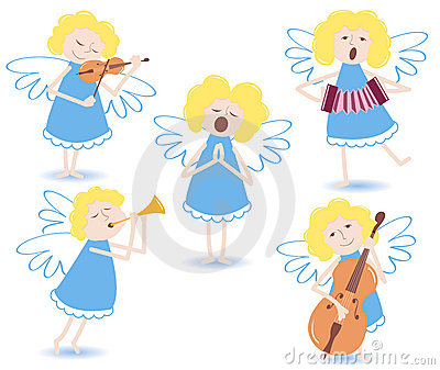 Musical angels.