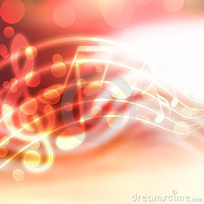 Free Musical Background Royalty Free Stock Photos - 21796998
