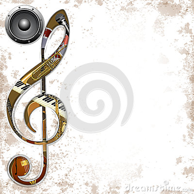 Free Musical Background Instruments Royalty Free Stock Photos - 58246838