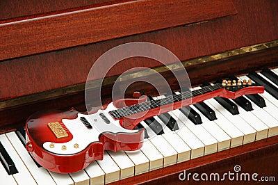 Musical concept - Rock guitar