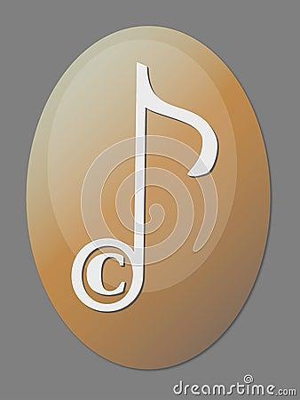 Musical Copyright Icon