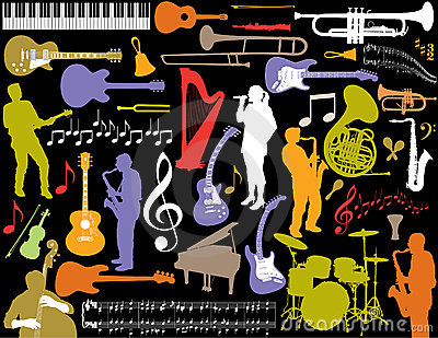Musical Elements Background