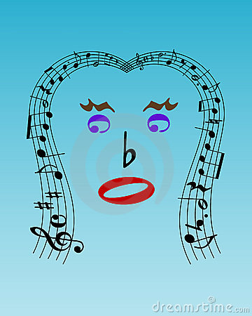 Musical face