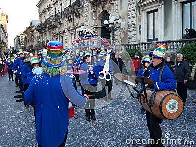 Musical folk band Editorial Image