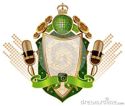 Musical heraldry