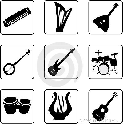 Free Musical Instruments 1 Royalty Free Stock Photo - 5204715