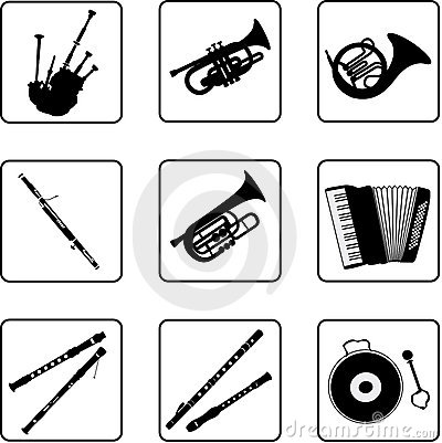 Free Musical Instruments 3 Royalty Free Stock Photos - 5204788
