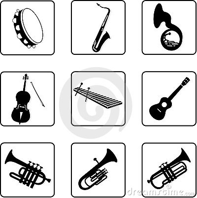 Free Musical Instruments 6 Stock Photography - 5345632