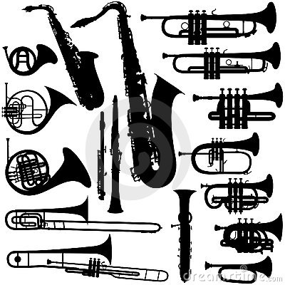Free Musical Instruments - Brass Stock Photos - 9196573