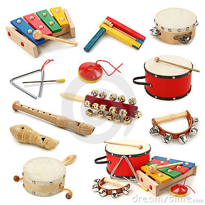 Free Musical Instruments Collection Stock Photos - 14468073
