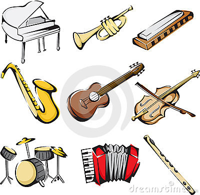 Free Musical Instruments Icons Royalty Free Stock Images - 22082549