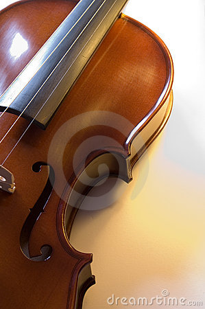 Musical instruments: violin close up (3 )