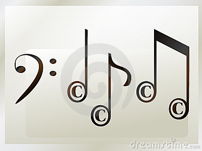 Musical notation copyright