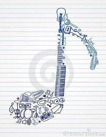 Free Musical Note Royalty Free Stock Photos - 15331318