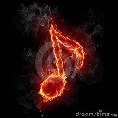 Free Musical Note Symbol. Stock Photo - 8889980